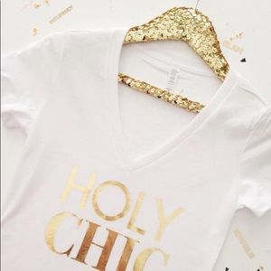Other - Gold Sequin Luxury Hanger